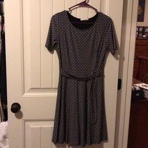 Stitch fix Black dress with belt.